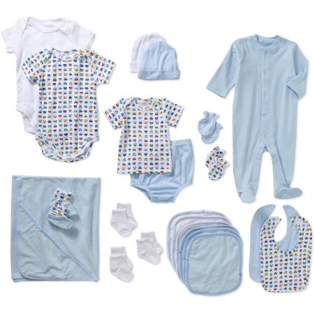 6bfe1f46d Click to enlarge. HomeClothing Gerber Newborn Baby Boy 22-Piece Layette  Shower Gift Set
