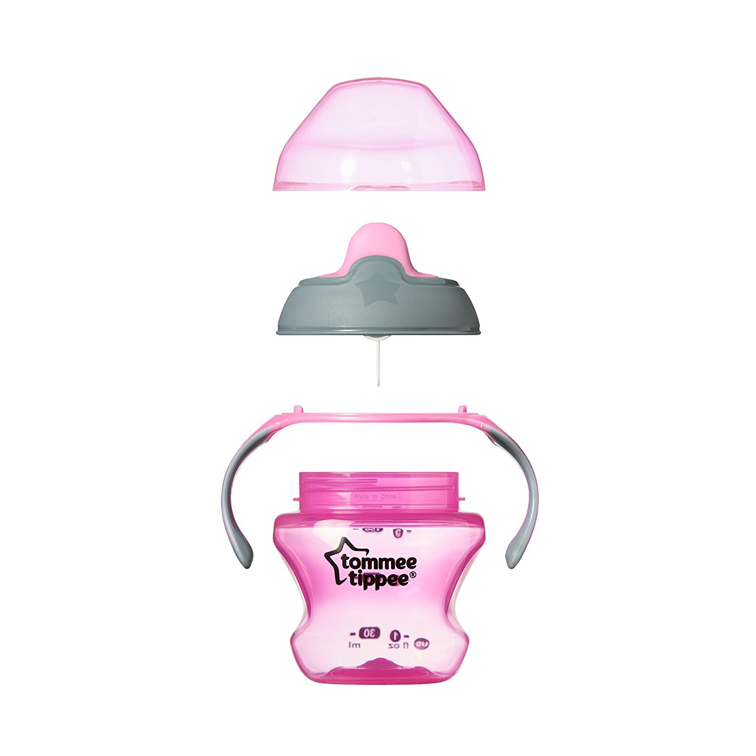 Tommee Tippee Closer To Nature First Transition Cup Pink