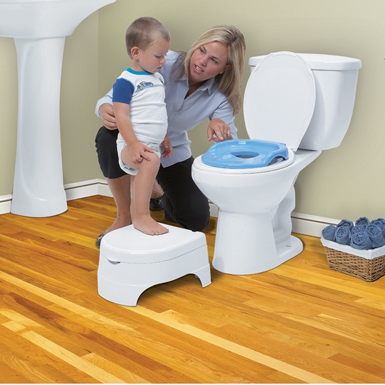 Summer Infant All In One Potty Seat And Step Stool Blue