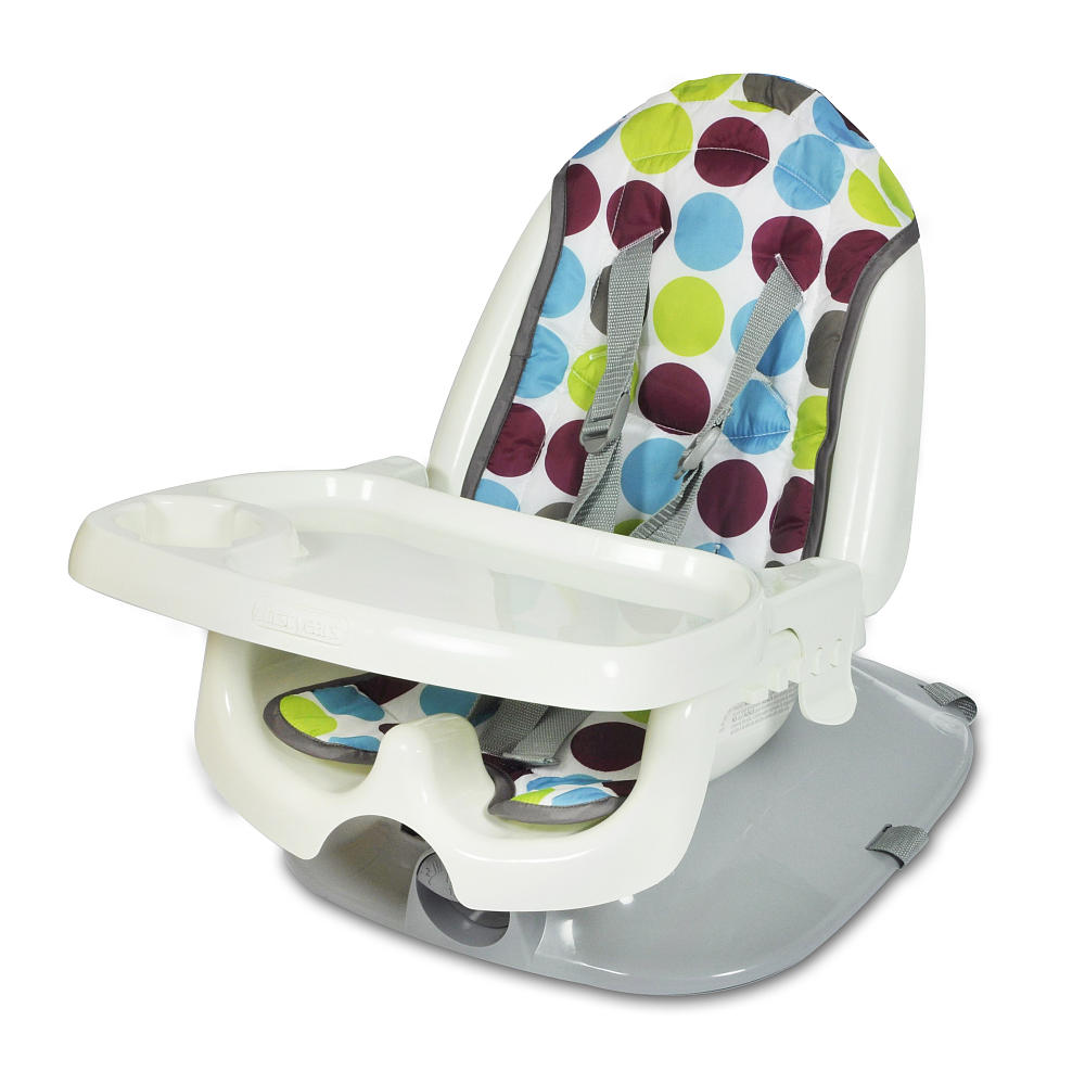 The First Years Deluxe Reclining Feeding Seat Dot Print