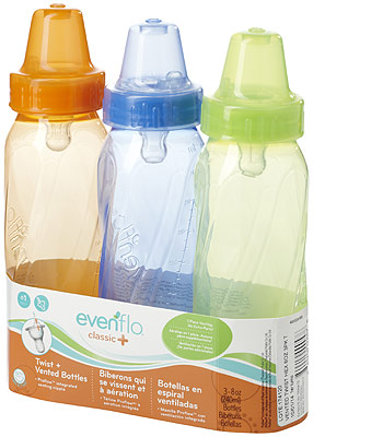 6c3259f99a7f Evenflo Classic Tinted Bottles