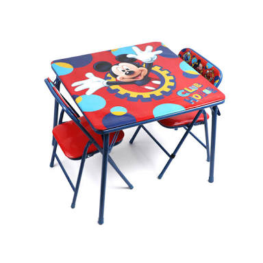 Disney Mickey Mouse Playground Pals Activity Table Set – Babiesnstuffs