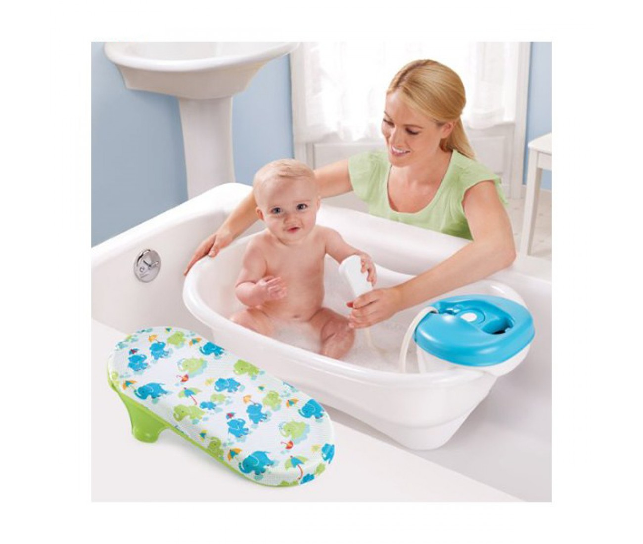 Summer Infant Newborn to Toddler Bath Center and Shower – Babiesnstuffs