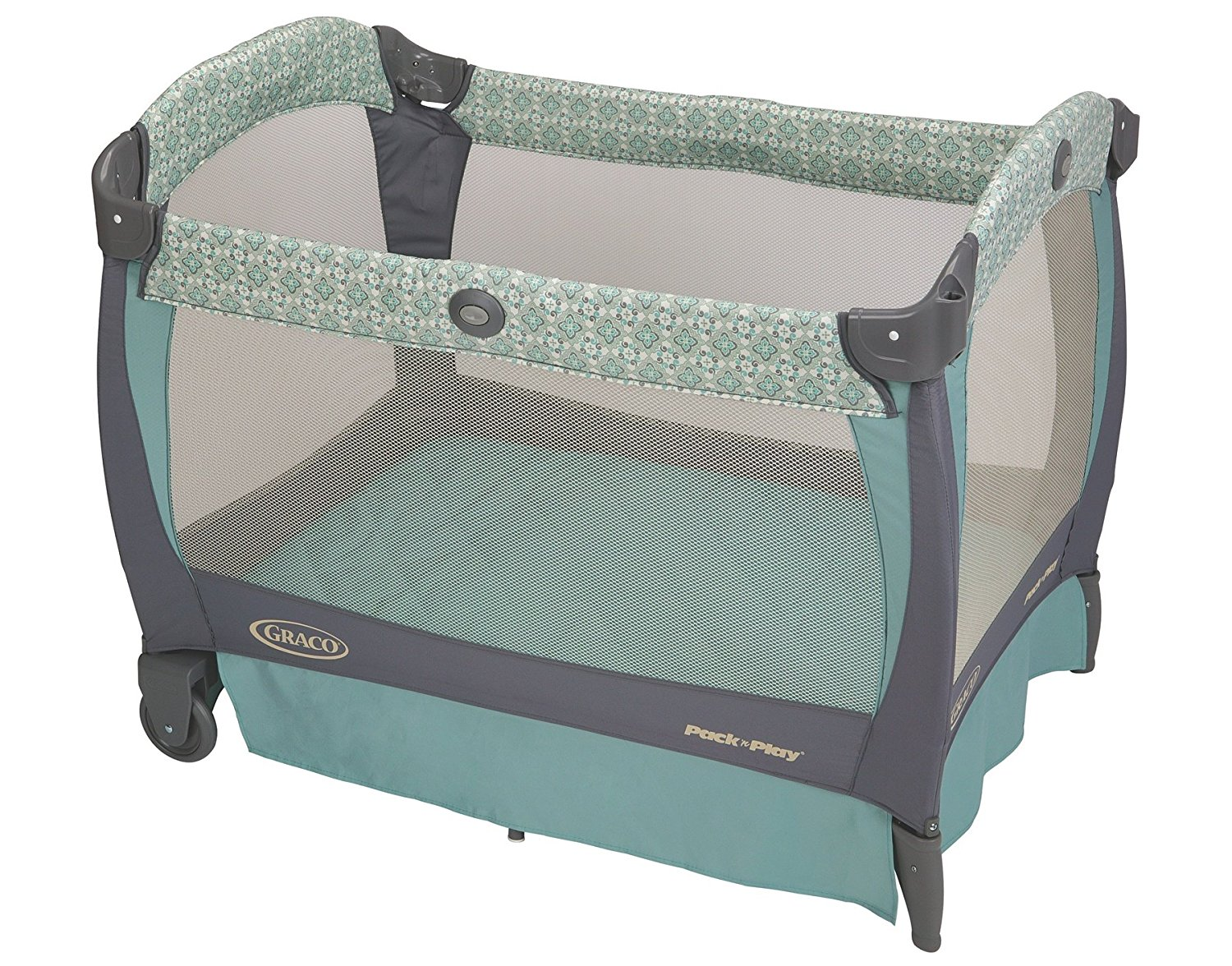 6543b3cb149 Click to enlarge. HomeBeddingPlayards Graco Pack  n Play Playard with Cuddle  Cove Rocking Seat ...